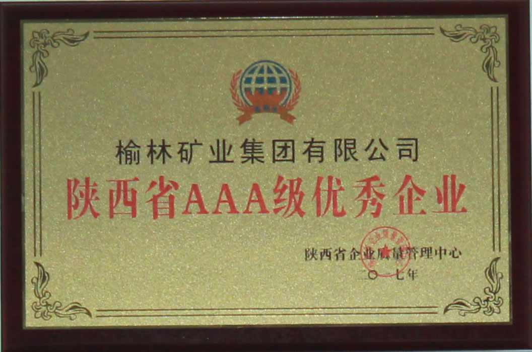 陕西省优秀企业