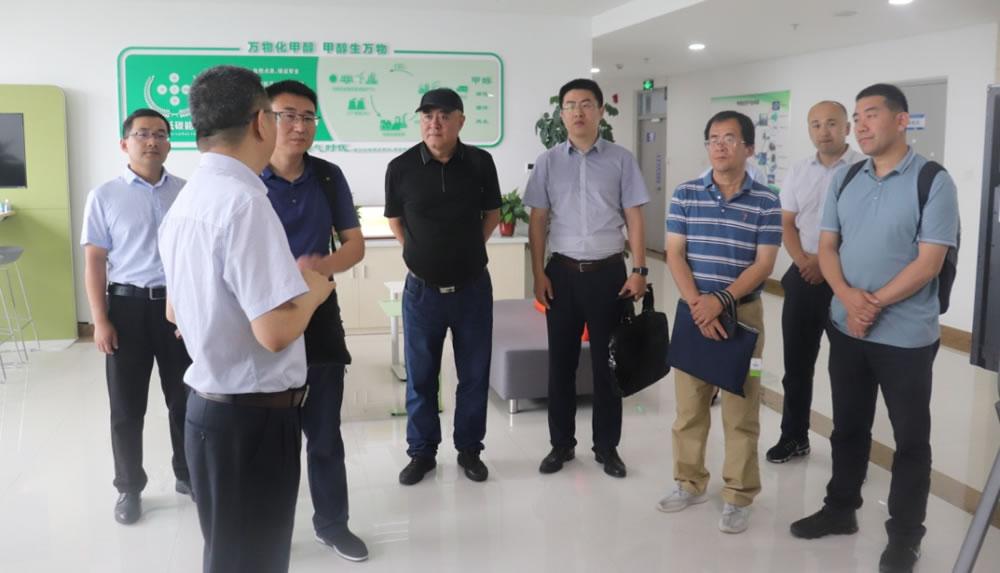 中科院洁净能源创新研究院榆林分院领导莅临榆林碳氢研究院考察交流
